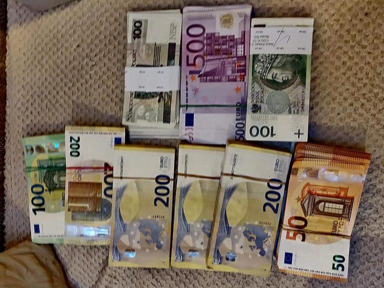 Znaleziono pieniądze. To duża kwota