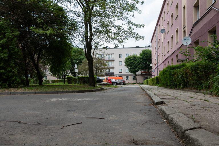 Modernizacja ulicy, chodnika i parkingu w Pyskowicach