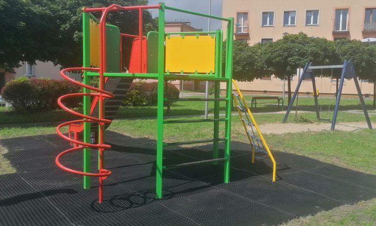 Nowe urządzenie dla dzieci w Pyskowicach