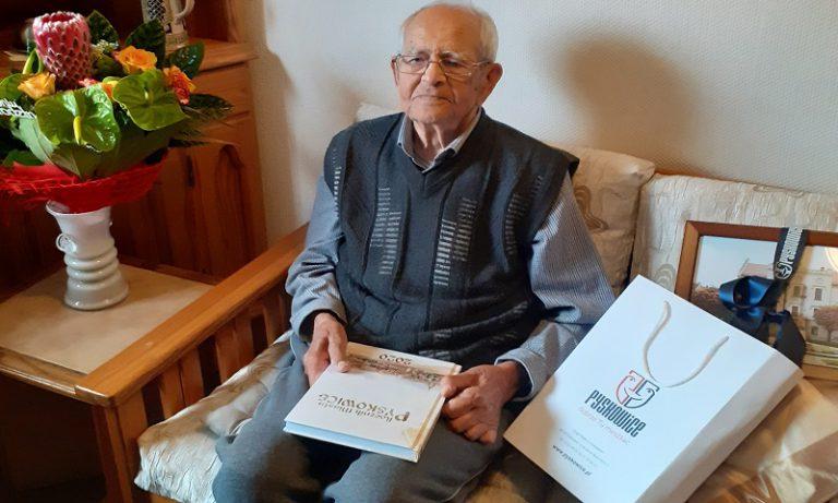 Mieszkaniec Pyskowic świętował 102 urodziny. Przeżył wojnę, covid i udar