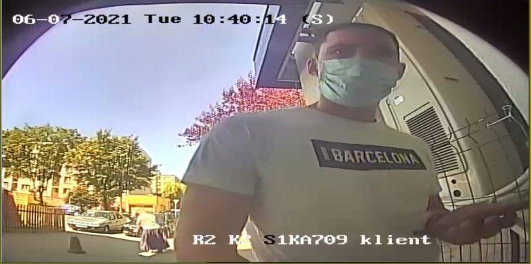 """Tego mężczyzny szuka gliwicka policja. Chodzi o oszustwo """"na blik"""""""
